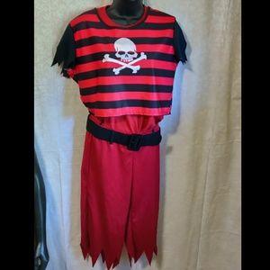 📚 5 Piece Hip Punk Pirate Halloween Costume Xtras